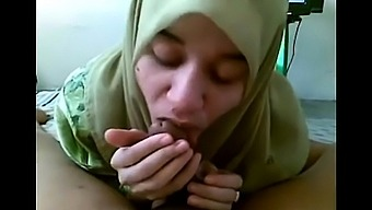 Islamic Teenager in Hijab