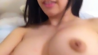 Beautiful Asian Teen fingering Tight Wet Juicy Pussy on Cam