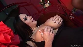 Dirty group sex with pornstars Denise Klarskov and Cathy Berry