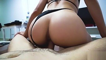Fit Teen Slut Rides Your Cock Reverse Cowgirl For Delicious Creampie - POV