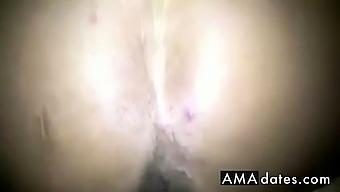 creampied menstruating twat