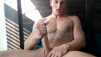 Muscle Blond with a Delicious Cock