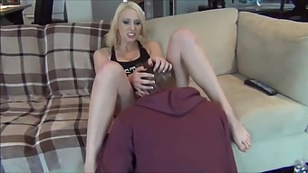 Sister Squirt In Front Of Her Brother