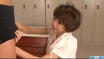 Amateur Japanese porn scenes with slim Akina Hara  - More at javhd.net