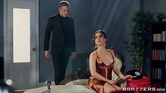 Wife Anastasia Brokelyn with the perfect body fucked by her lover