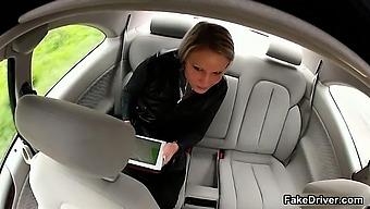 Taxi driver cheats gorgeous blonde part6