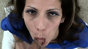 EMO Belladonna Goth POV Blowjob Facial