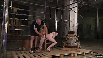 DEep anal for the hot twink during submissive porn