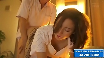 Beautiful Japanese Mom Fucks Stepson
