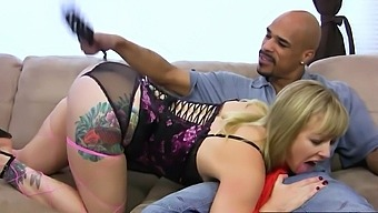 Adrianna Nicole taught a lesson with BBC