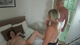 Inara Stark Shooting threesome fun