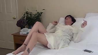 Mommy Is Fucked Whilst Sleeping And She Likes