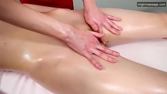 First Virgin Time Oil Lesbian Massage For Nevet Nikolet