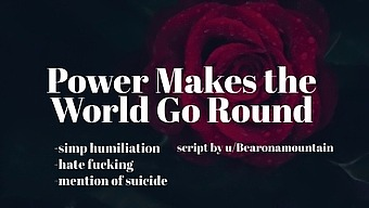 Power Makes the World Go Round [Erotic Audio for Men][Humiliation][Hate Fucking]