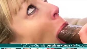 Cock Sucking And Dildo Playing Adrianna Nicole